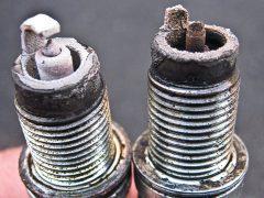 Диагностика двигателя по состоянию свечей зажигания