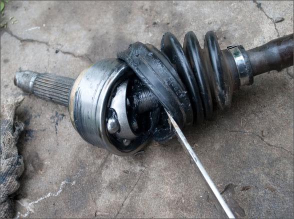 Наружная граната (ШРУС) в разобранном виде