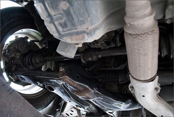 Правый передний автомобильный привод
