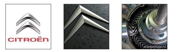 Расшифровка логотипа Citroen