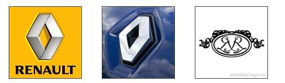 Расшифровка логотипа Renault