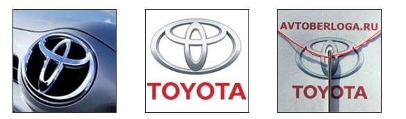 Расшифровка логотипа Toyota