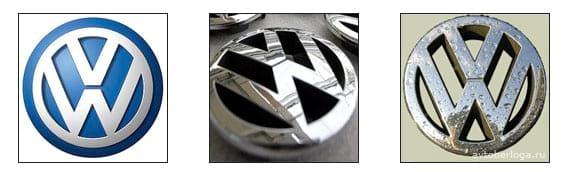 Расшифровка логотипа Volkswagen