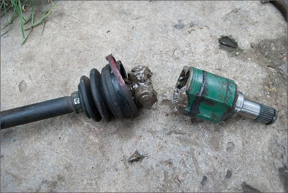 Внутренняя граната (ШРУС) в разобранном виде